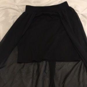 Joe Benbasset Skirts - 5/$25🤩 Black Overlay Skirt